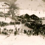 Eröffnung des ersten Schleppliftes - Hochbrand
