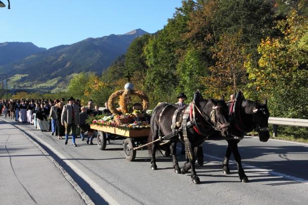 September 2014: Erntedankfest