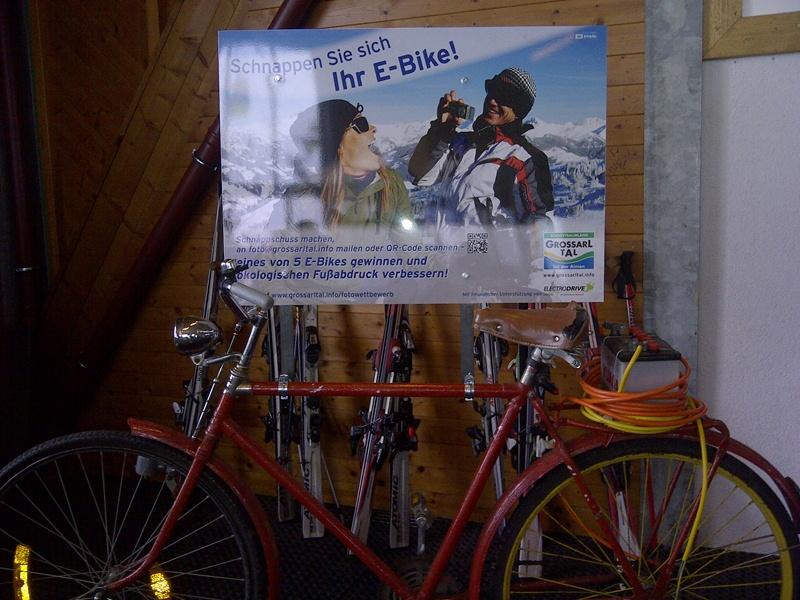Das Fahrrad von unserem Herbert