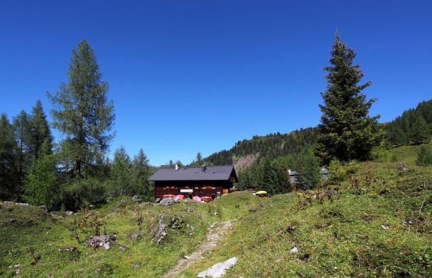 Filzmoosalm (1.710 m) im Großarler Ellmautal