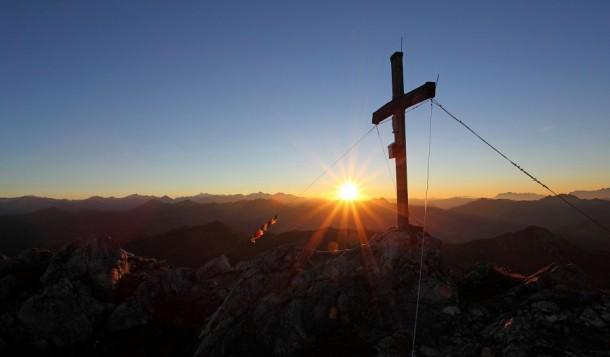 Sonnenuntergang am Draugstein 2.356 m