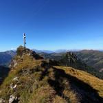 Erster Gipfel - das Filzmooshörndl - zum Greifen nah