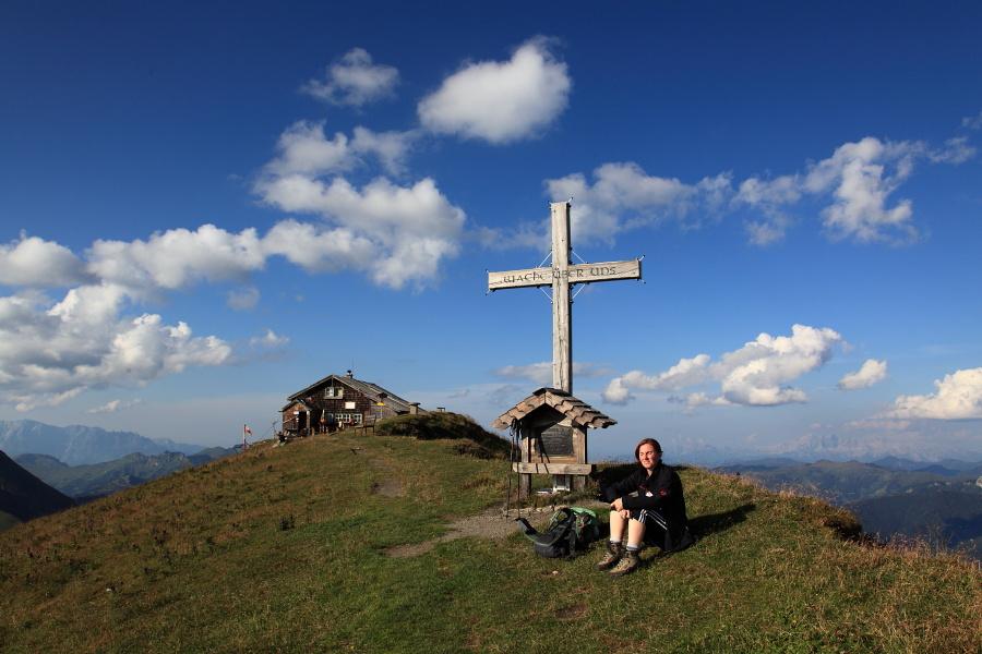 Gipfelrast am Gamskarkogel