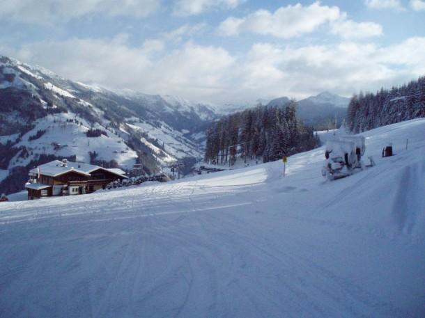 Mehr Platz und freie Sichtverbindungen auf die Finstergrubenabfahrt, Harbachpiste sowie die Familienabfahrt