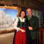 Caroline Koller mit Sepp Gruber