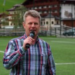 Platzsprecher Hannes Gruber