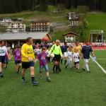 Aufmarsch der Mannschaften