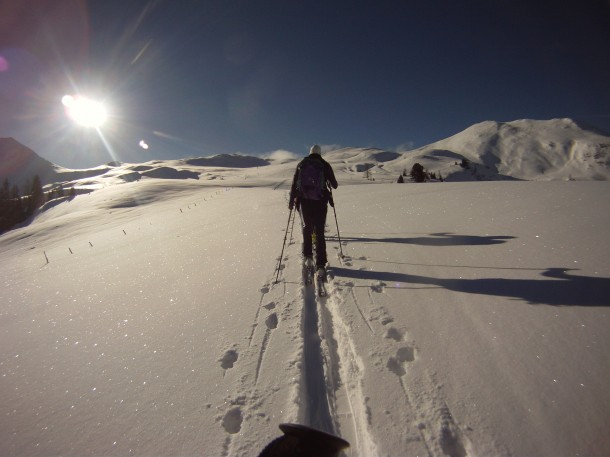 Unterwegs zum Filzmooshörndl, 2.189 m