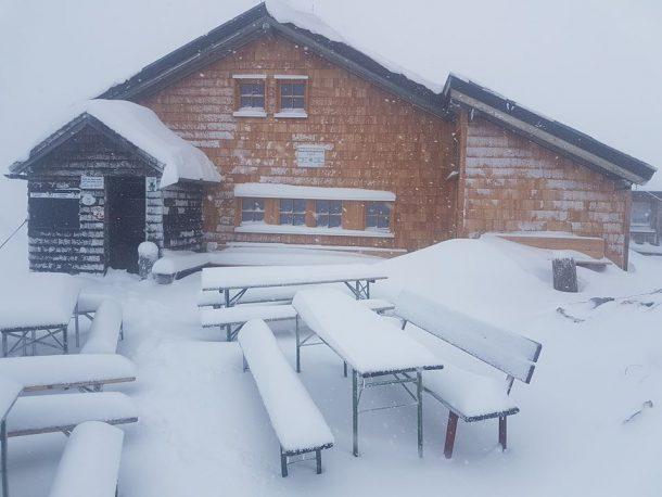 Gamskarkogelhütte am 19. 9. 2017