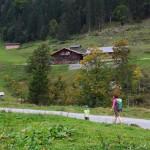 Blick von der Aigenalmkapelle zur Paulhütte