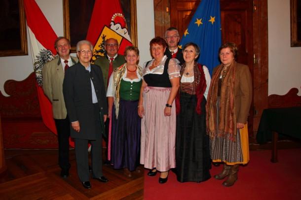 Gerti Jensen und ihr Team