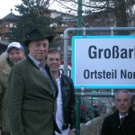 Der Delegation aus dem Alpendorf ist das Glück auch ins Gesicht geschrieben