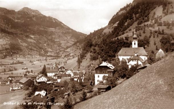 Grossarl um 1962