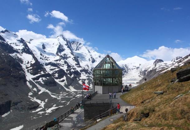 An der Kaiser-Franz-Josefs-Höhe mit Swarovski-Aussichtswarte
