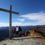 Am Gründegg (2.168 m) herrscht an dem Tag reger Betrieb