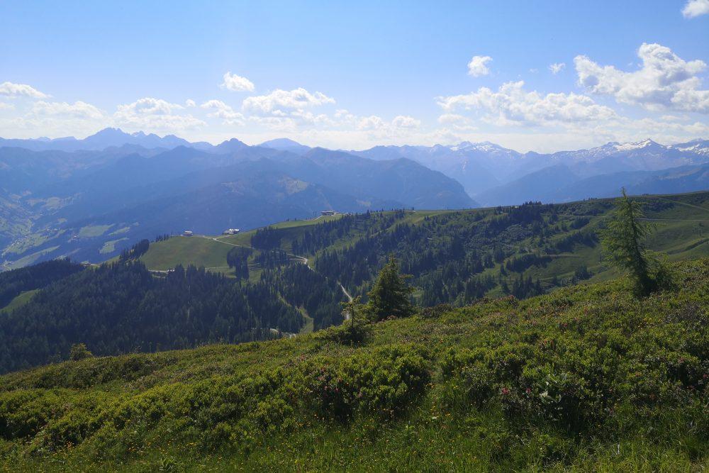 Höhenwanderung Panoramabahn Großarltal