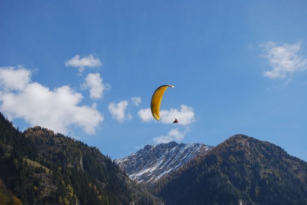 Tandemflug bei Hike & Fly