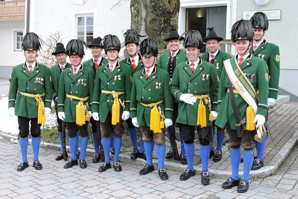 Vorstand der Historischen Bauernschützen Großarl