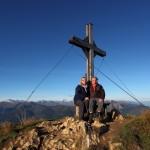 Karoline und Franz am Schuhflicker, 2.214 m