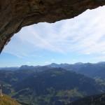 Unter´m Felsen - Blick in die Tauern