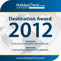 HolidayCheck Destination Award 2012