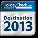 HolidayCheck Destination Award Logo 2013