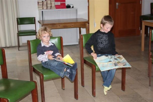 Eltern-Kind-Werkstatt - auch die Kleinsten waren begeistert ©  Anja Toferer