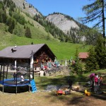 Igltalalm mit großem Kinderspielplatz