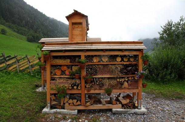 Insektenhotel im Talmuseum 3