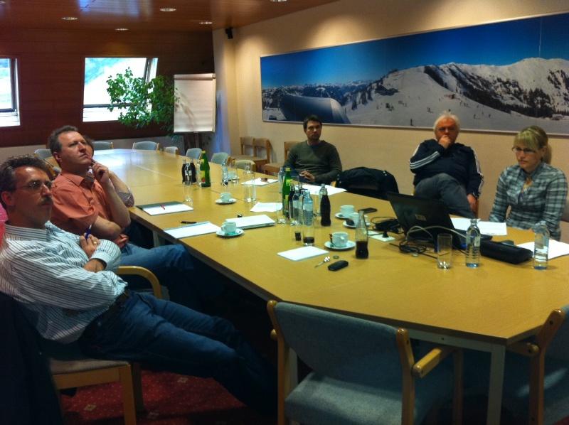 Internetsitzung der Schreiberlinge des Großarltal-Blogs
