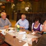 Die Brüder Gottfried, Stefan und Walter Mooslechner sind langjährige Freunde von Sepp Forcher