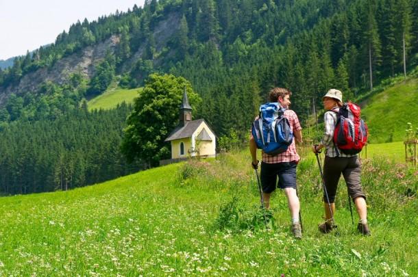 Wanderung am Kapellen-Wanderweg