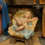 Das Jesuskind der Kastenkrippe