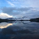 Wolkenstimmung über dem Oberen Schwarzhornsee