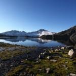 Dieser kleine Bach speist den Oberen Schwarzhornsee