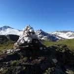 Stoamandl vor der Kulisse der Hochalmspitze