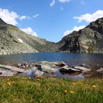 Pfringersee - Blick zur Arlscharte