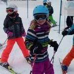 Volksschulkinder aus dem Großarltal beim Skisicherheitstag