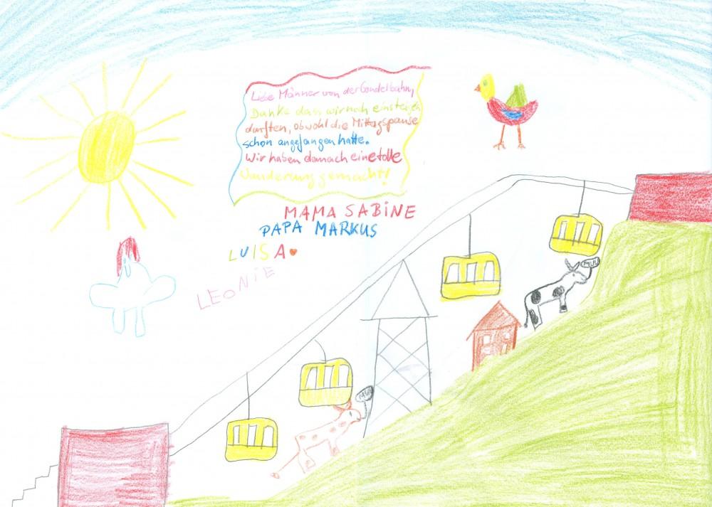 Kinderbild Panoramabahn Großarltal von Familie Schoor
