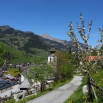 Kirche Grossarl Apfelblüte_7