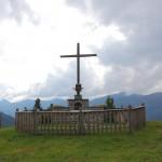 Gedenkkreuz der Großarler Bauernschützen an der Unterwandalm