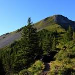 """Aufstieg auf die """"Gabel"""" (Kitzstein, 2.037 m)"""