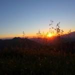 "Sonnenuntergang an der ""Gabel"" (Kitzstein, 2.037 m) IV"