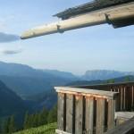 Blick von der Saukaralm Richtung Hochkönig und Tennengebirge