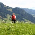 Sepp Forcher mit Blick auf das Großarltal