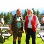 Sepp Forcher und Oberförster Robert Schilcher