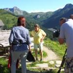 Regisseurin Elisabeth Eisner gibt die letzten Anweisungen