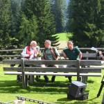 Sepp Forcher mit Förster Robert Schilcher