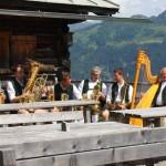 Schlosshof Tanzlmusi auf der Viehhausalm
