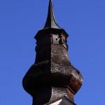 Kirchturm alt - Schriftzeichen MARIA schaut richtung Ort (= Westen)